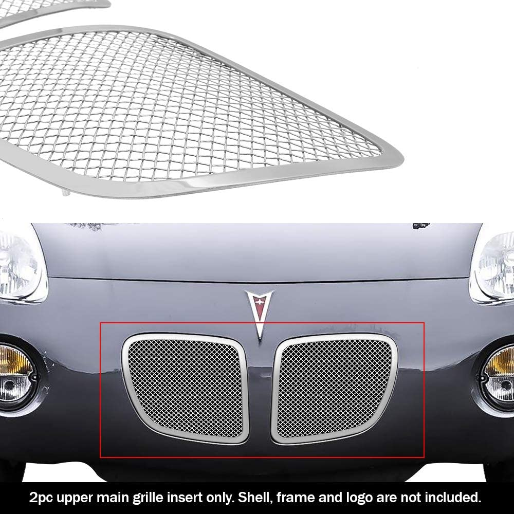 APS Compatible with 06-08 Pontiac Solstice Stainless Mesh Grille Insert P75545T