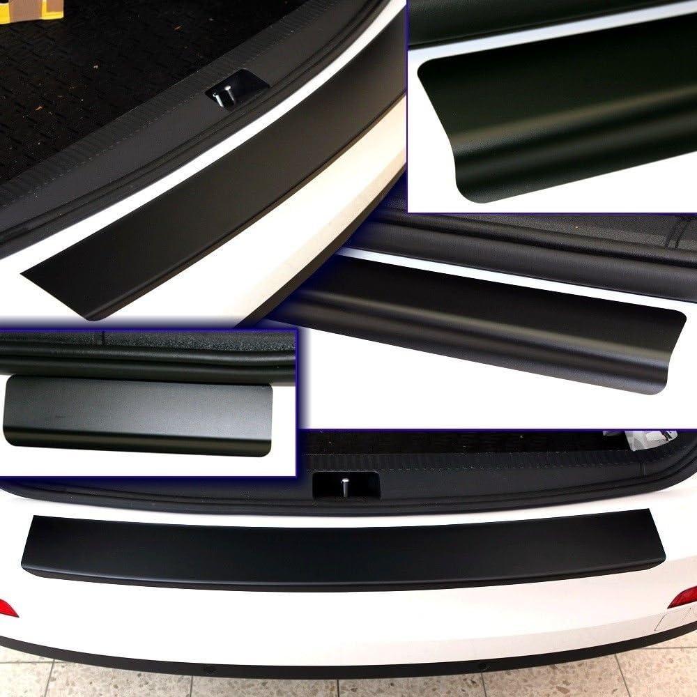 SparSet Ladekantenschutz /& Einstiegsleiste Schutzfolie Lackschutzfolie Lackschutz Schwarz Matt Auto Folie 10245-2158