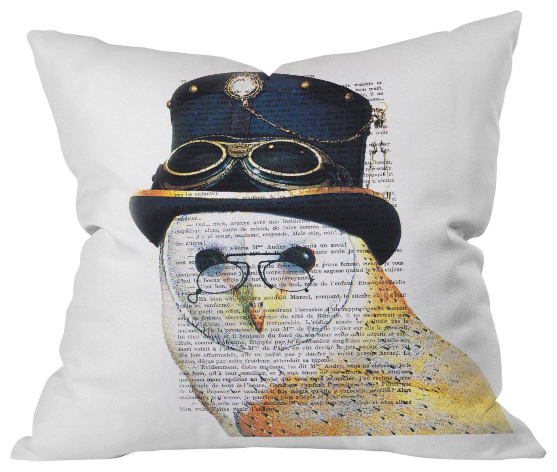 Deny Designs Lisa Argyropoulos Athena Indigo Outdoor Throw Pillow 20 x 20
