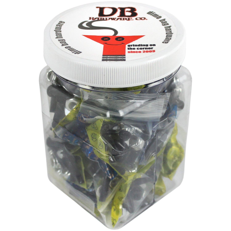 Dime Bag Hardware Bulk 1'' Phillips Black 25 Sets Shop Display Case