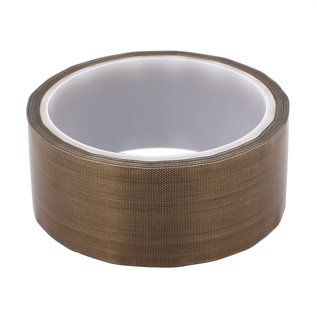 DealMux 0.13 x 38mm PTFE Tape High Temperature Resistant Tape Non-Adhesive Tape for Sealing Machine