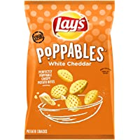 Lay's Potato Snacks, Poppables White Cheddar, 141 G