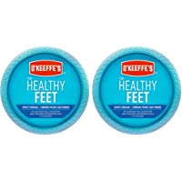 O'Keeffe's Healthy Feet Foot Cream, Healing Moisturizer, Relieves and Repairs Extremely Dry Cracked Feet, Instantly…