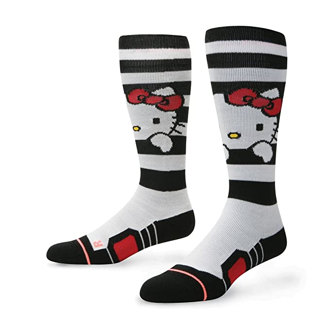 aa828501e Stance Socks - Stance Hello Kitty Snow Socks - White: Amazon.es ...