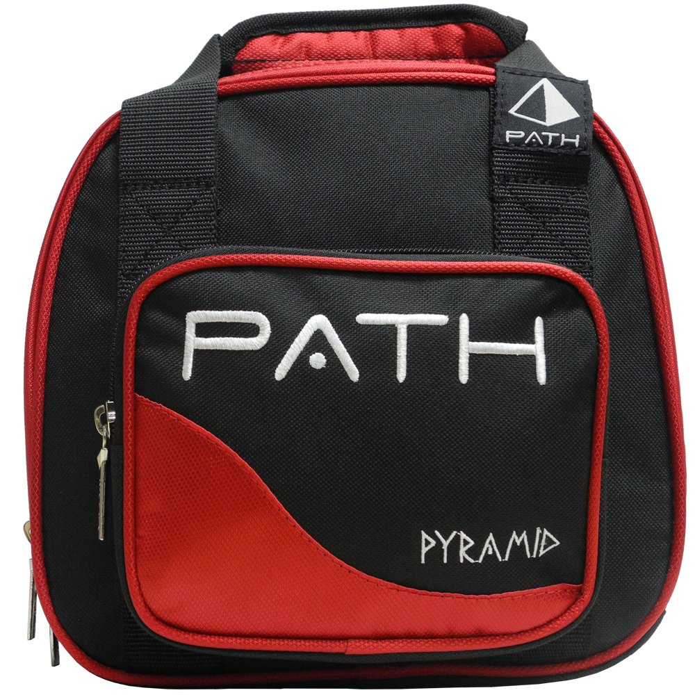 Pyramid Path Plus One Spare Tote Bowling Bag (Black/Red) by Pyramid
