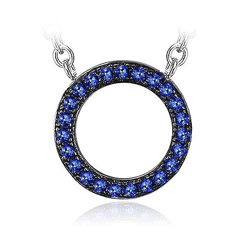 Jewelrypalace Erstellbar Anh/änger 925 Sterling Silber Opulente Halskette