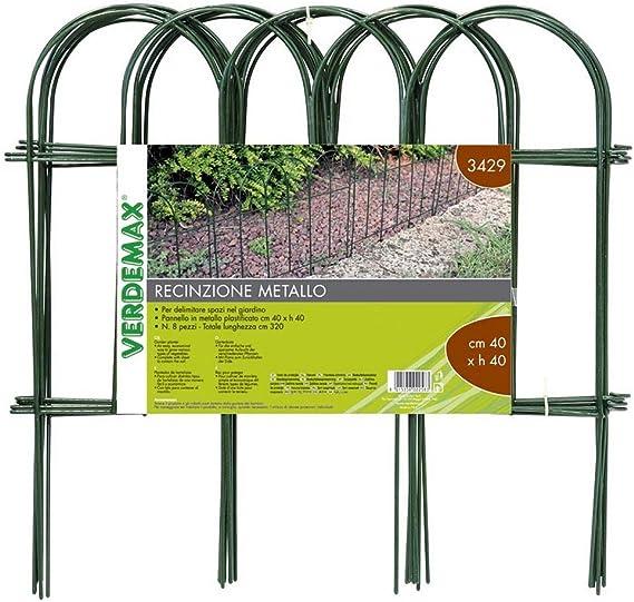 5 Pack Pannello Decorativo per Recinzione Giardino 23  X 13 HizoeChu Bordo del Recinto da Giardino Pannelli Decorativi per Recinzione da Giardino Barriera Animale