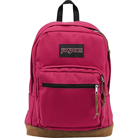 """JanSport Womens Classic Specialty Right Pack Backpack - Cerise / 18""""H x 13""""W x 8.5""""D Casual Daypacks at amazon"""