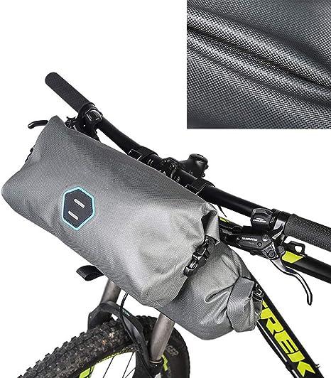 7L Bolsa Manillar Bicicleta Impermeable Pannier Multifuncional ...