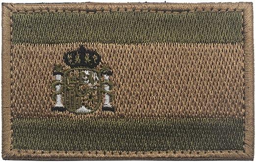 Parche bordado con bandera de España para coser sobre 8 x 5 cm ...