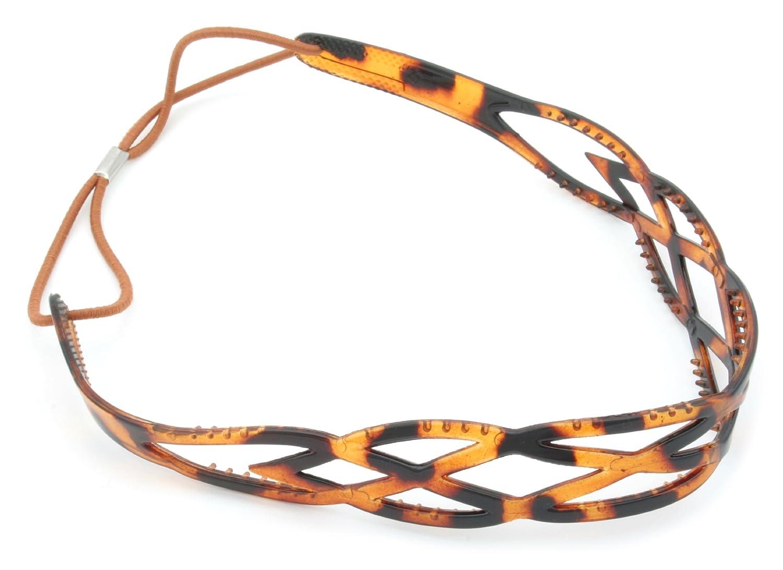 Zest Hypoallergenic Twist Weave Headband Hair Accessory Tortoiseshell