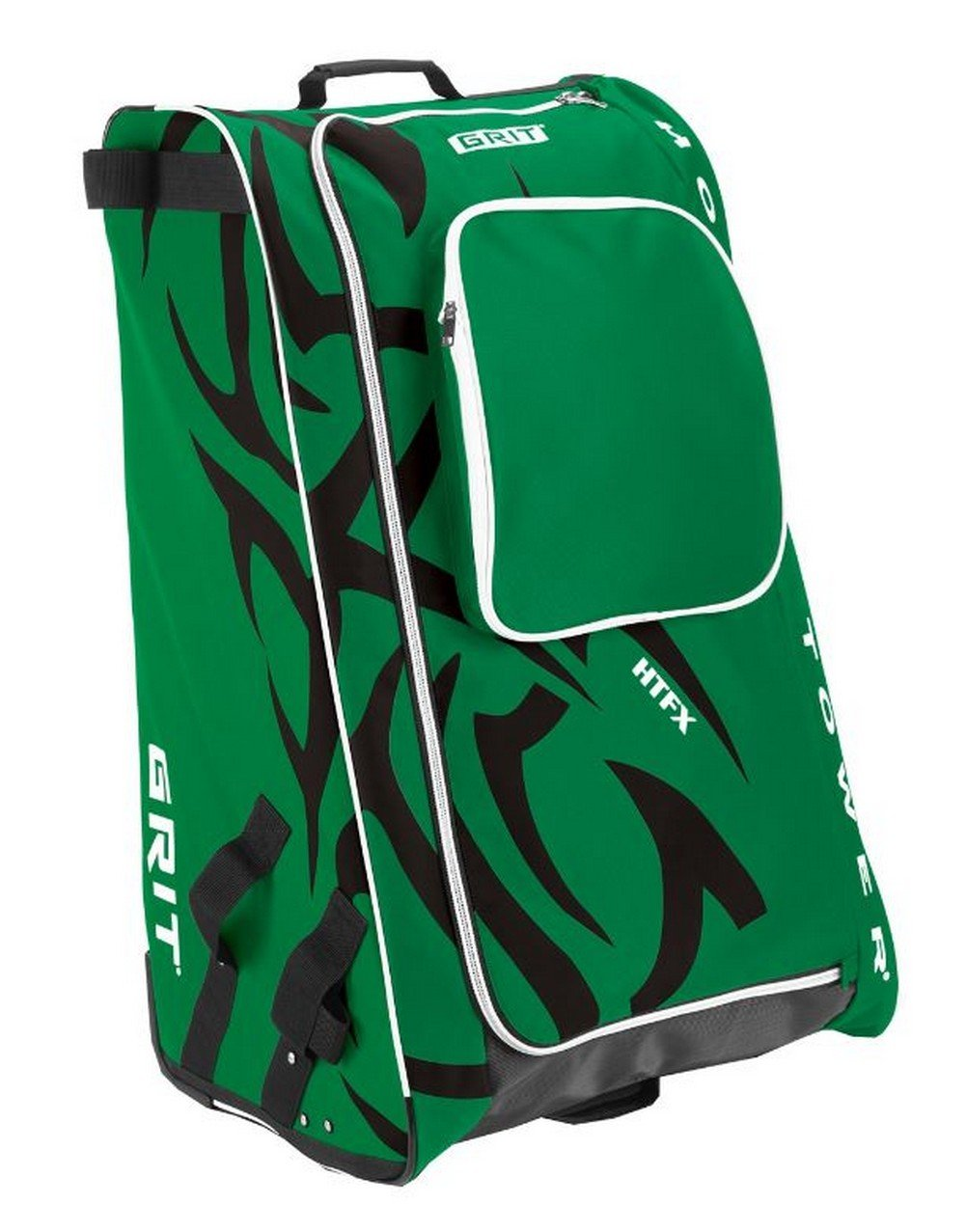 Grit Inc HTFX Hockey Tower 36'' Wheeled Equipment Bag Green HTFX036-DA (Dallas)