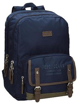 Pepe Jeans Alber Mochila Escolar, 42 cm, 19.44 litros: Amazon.es: Equipaje