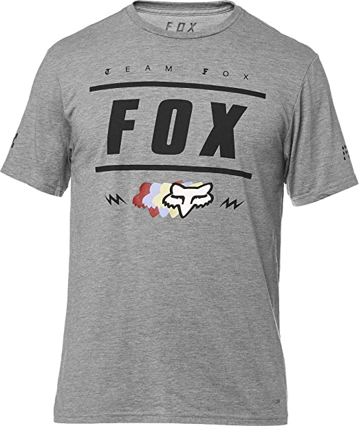 Fox Racing - Camiseta - para Hombre Gris Htr Graph Small