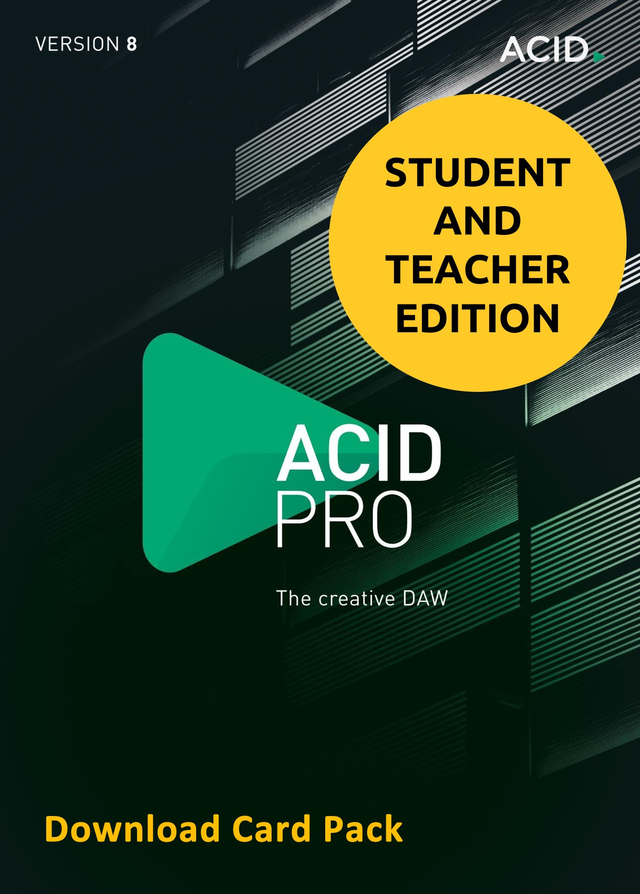 MAGIX Acid Pro 8 for Students & Teachers (Download Card) by Genesis MGX
