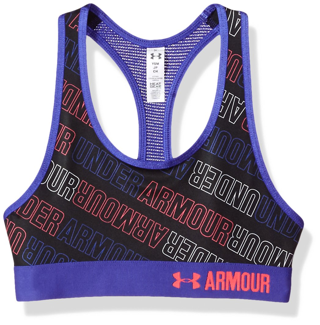 Under Armour Novelty Armour Bra, Reggiseno Sportivo Bambina 1275465
