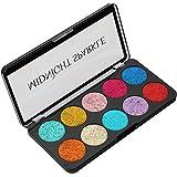 Swiss Beauty Beauty Glitter Eyeshadow Palette 01