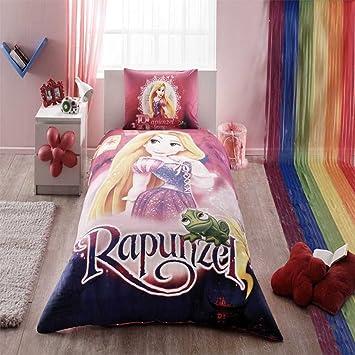 Disney Rapunzel Bedding Duvet Cover Set New Licensed 100% Cotton / Disney Rapunzel  Twin Size