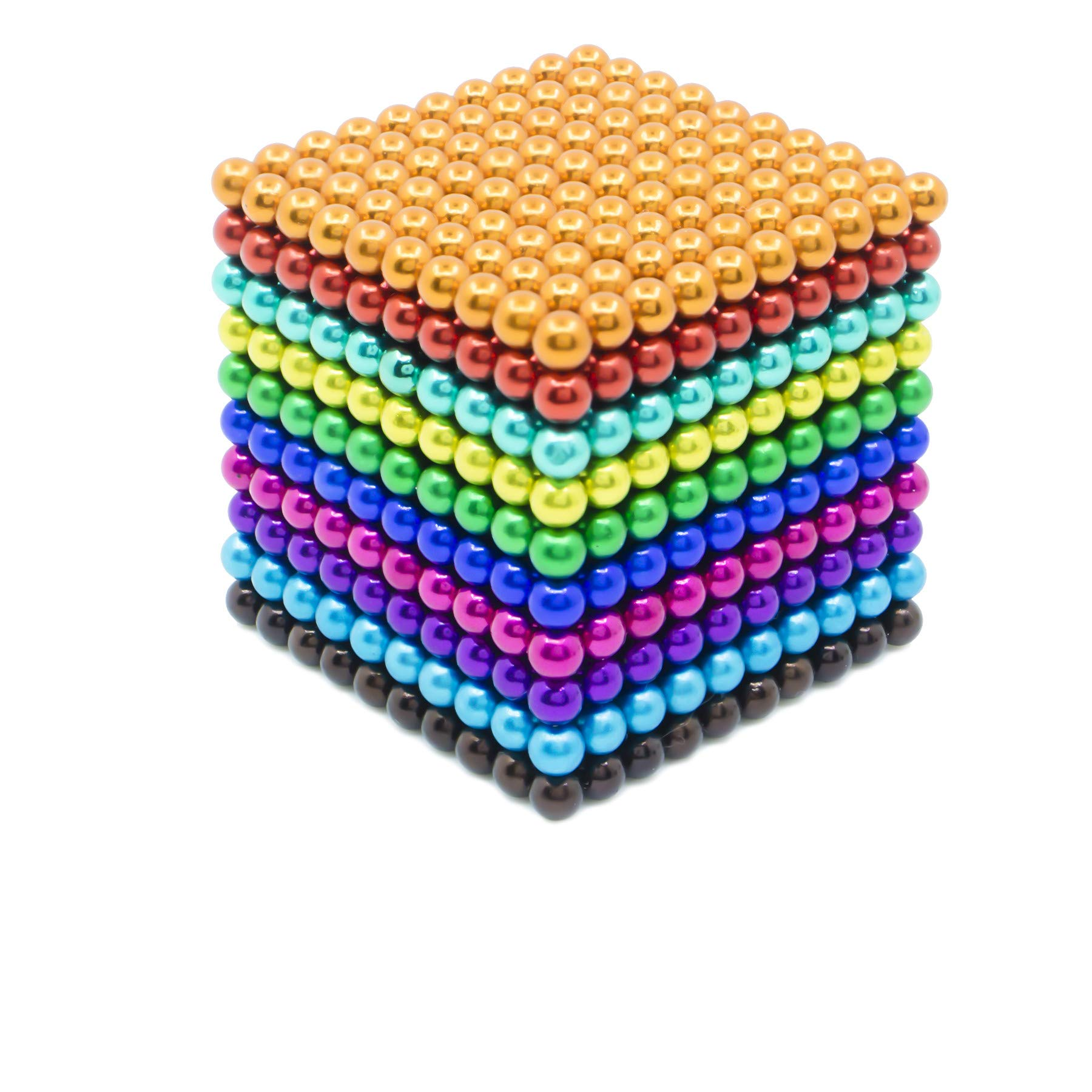 sunsoy 1000 Pieces 5mm Sculpture Building Blocks Toys for Intelligence Learning -Office Toy & Stress Relief for Adults Colorful by sunsoy (Image #8)