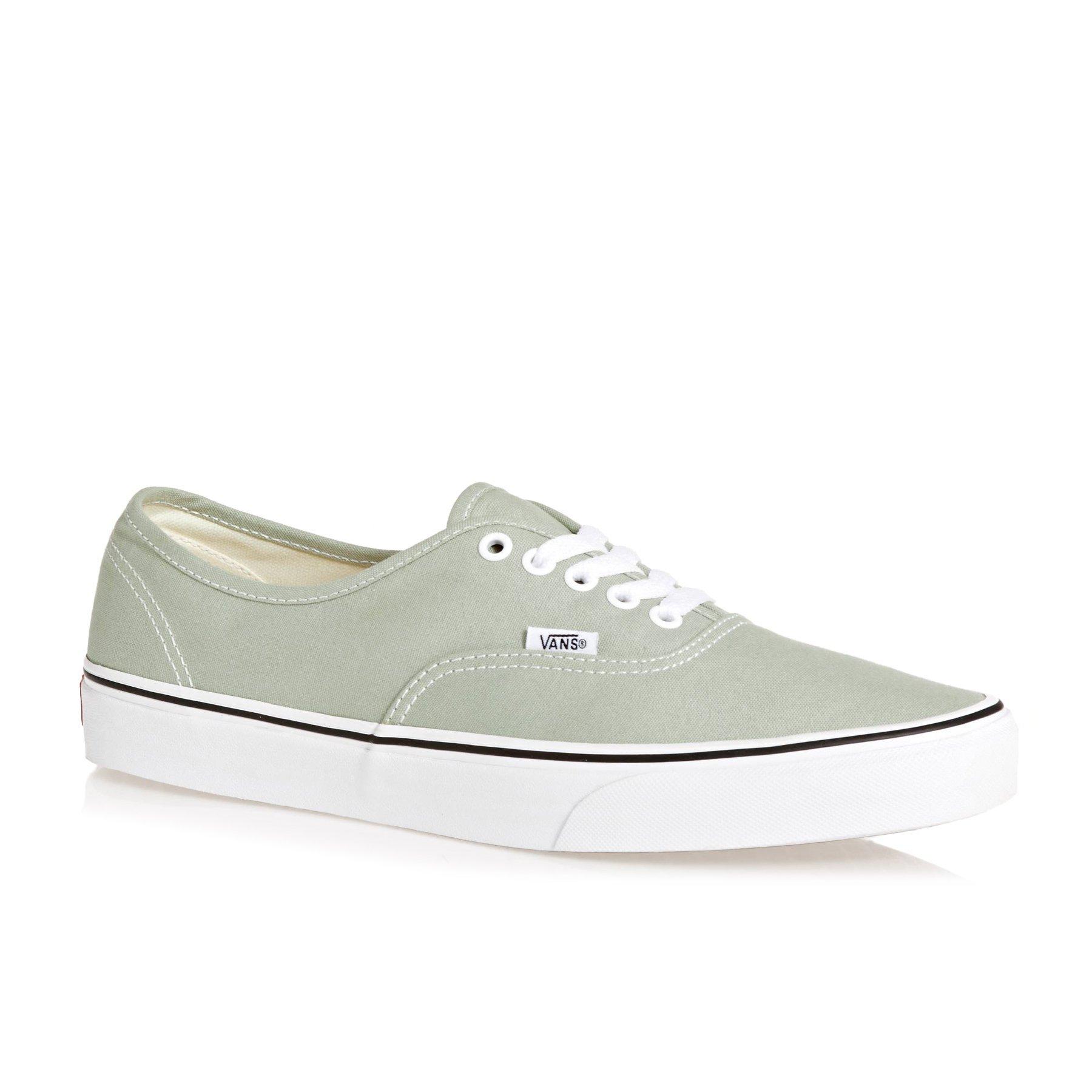 Galleon - Vans Authentic Shoes 11.5 B(M) US Women   10 D(M) US Desert Sage True  White 080abf4d5