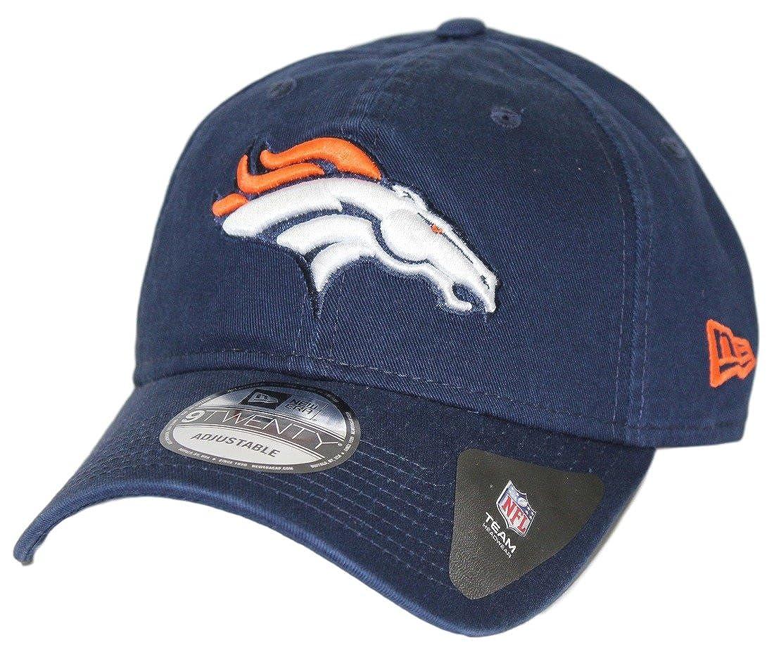 Amazon.com  New Era Men s Denver Broncos 9Twenty Core Navy Hat  Clothing 9193dc99f