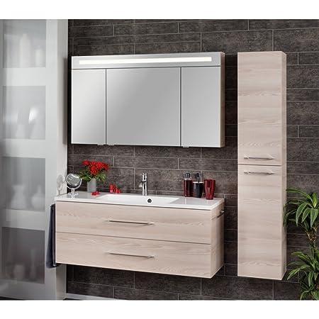 Exklusiv Badezimmer Mobelset Alaska Esche Nb Inkl Waschplatz Und