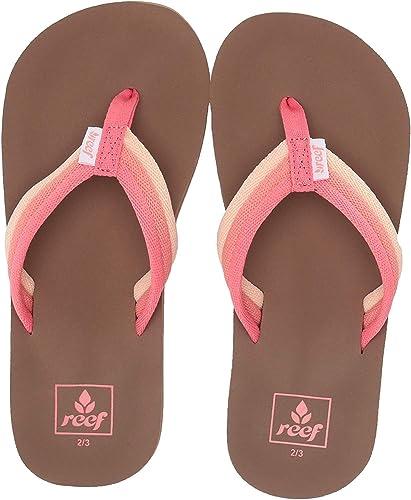 Reef Girls Kids Ahi Beach Flip Flops