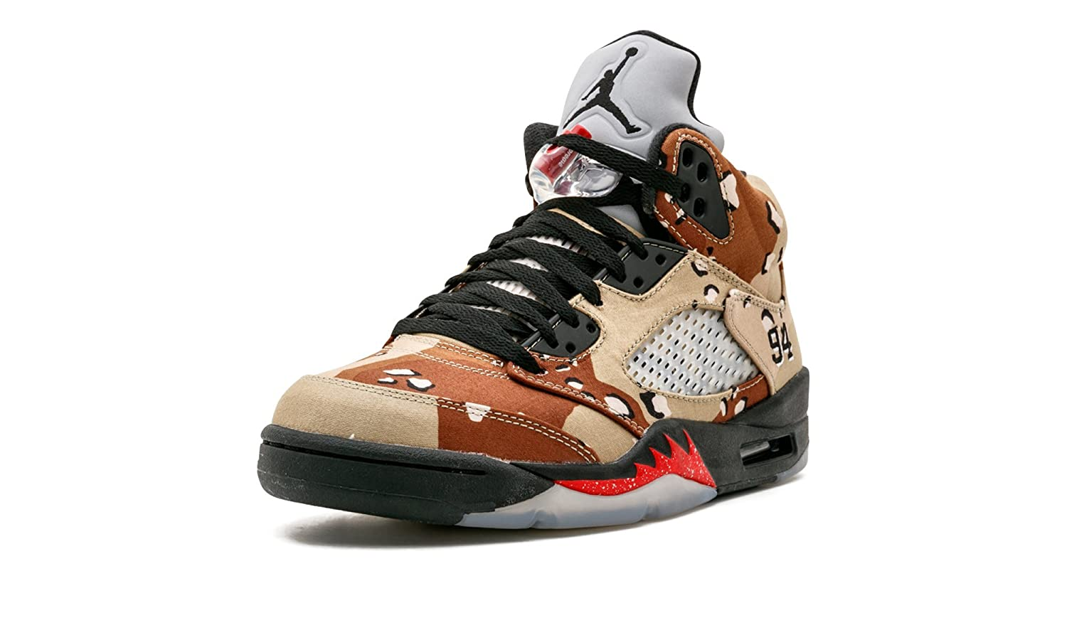release date 76347 8ed26 Amazon.com   Air Jordan 5 Retro Supreme
