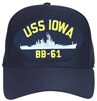 USS Iowa BB-61 Ship Cap