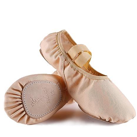 Alxcio Scarpe da Punta per Balletto Scarpette da Danza 4903ff322fe