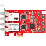 TBS 6908 Professional DVB-S2 Quad Tuner PCIe Card