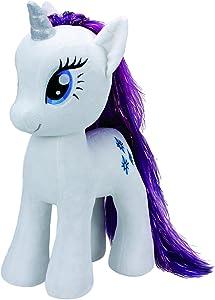 "Ty Beanies My Little Pony Rarity 16"" Plush"