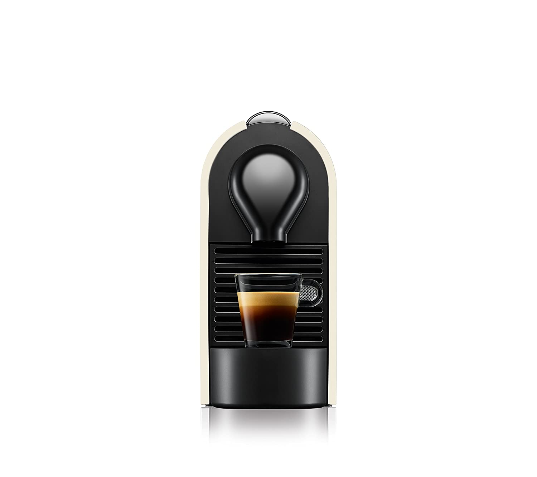 Nespresso XN 2501 U Pure Cream Krups U-Cafetera con c/ápsulas 1260 W Color Perla Blanco
