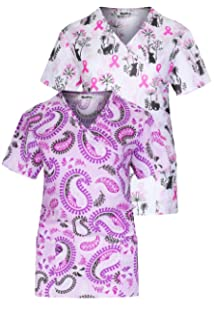 70f7cfa4ffa Amazon.com: Just Love Women's Scrub Tops Scrubs Nursing Scrubs: Clothing