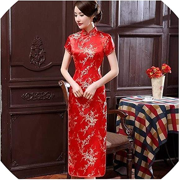 Amazon.com: Plus Size S 6XL Traditional Chinese Dresses ...