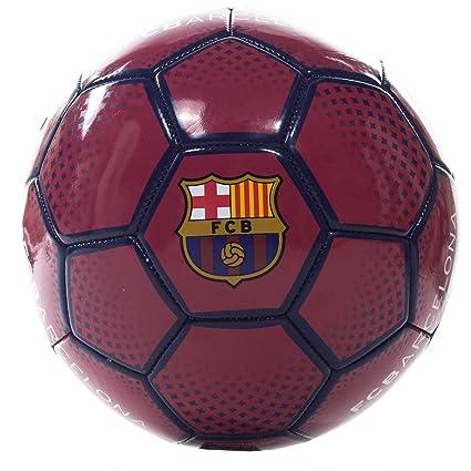 Barcelona F.C. Diamond Balón de fútbol, Juventud Unisex, Granate ...