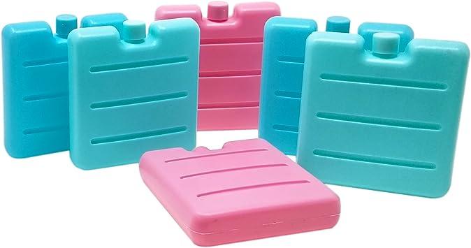 ToCi – Acumuladores pequeños en Azul, Rosa y Verde   Mini Nevera y Elementos para la Nevera Funda   Nevera y batería para la – Fiambrera