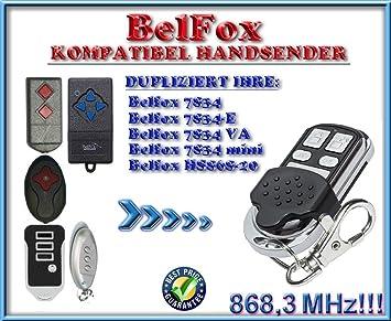 Ersatz sender BELFOX 7834 Klone MINI Kompatibel Handsender 868.3Mhz fixed code