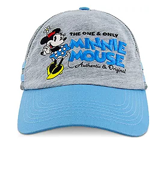 146cd4c7791 Image Unavailable. Image not available for. Color  Disney Parks The One and  Only Minnie Mouse Baseball Cap Women Blue