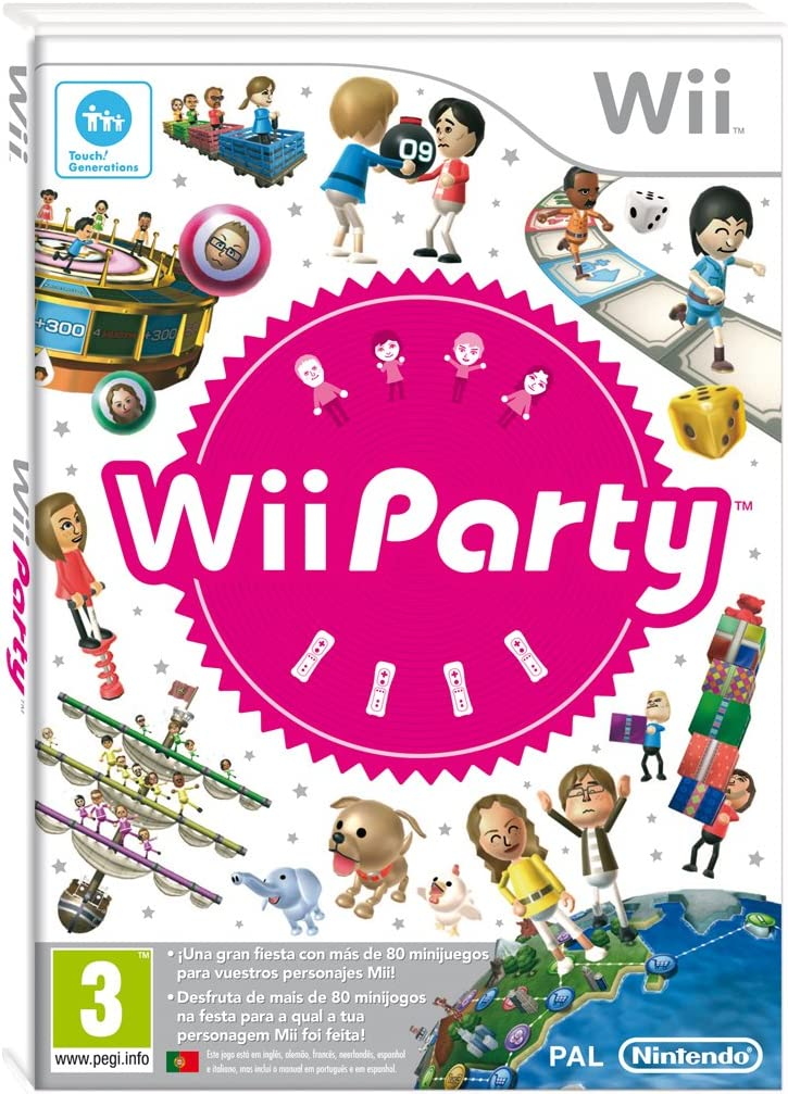 Wii Party: Amazon.es: Videojuegos