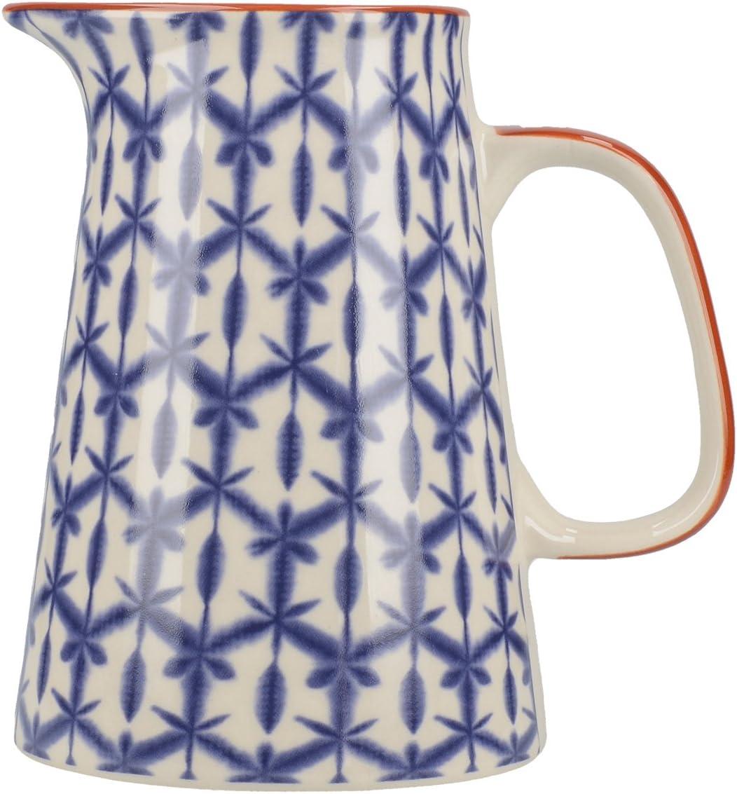 Creative Tops Jarra Azul Drift, cerámica, Small, 15 x 12 x 15 cm