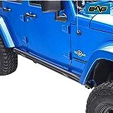 EAG 4 Door Side Armor Rocker Guard Rock Slider