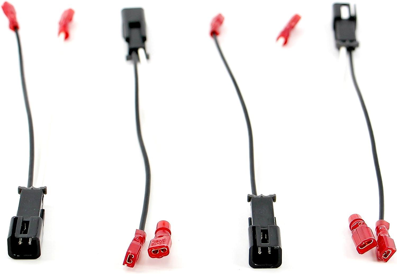 Xtenzi 2 Pair Speaker Harness Set for Ford Mercury /& Lincoln Vehicles Mazda