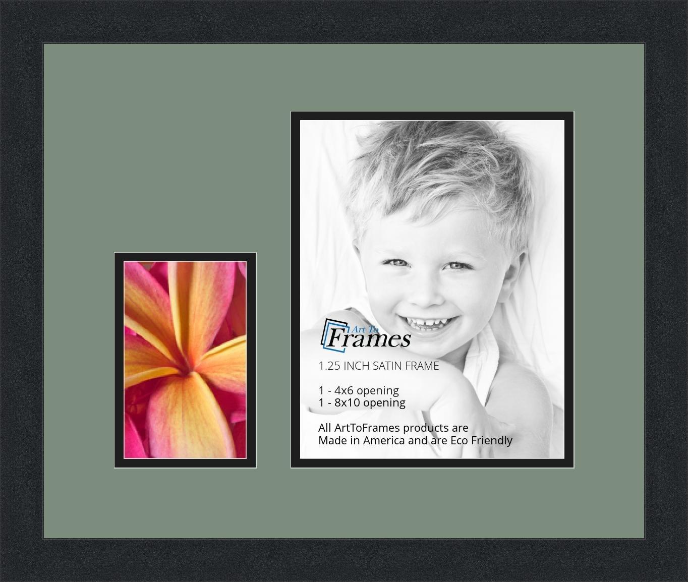 Arte a marcos doble-multimat - 249-852/89-FRBW26079 marco de fotos ...