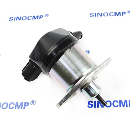 /sinocmp cp-u0315/combustible apagado v/álvula para Kubota D905/D1005/D1105/V1205/V1305/V1505/solenoide /60010/17208/ /60015/12/V Stop solenoide/ 17208/