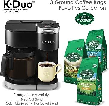 Amazon.com: Keurig K-Duo Cafetera de filtro, una porción y ...