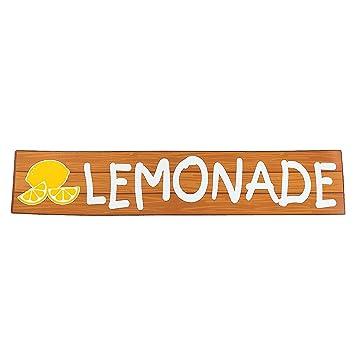 amazon com lemonade party lemonade sign health personal care