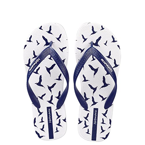 6621efcbe517 Hotmarzz Men s Seagulls Birds Animal Printing Fashion Flip Flops Summer  Sandals Beach Slippers Size 6 D