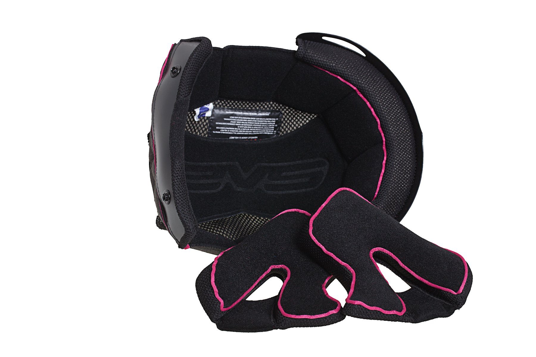 EVS Sports Vortek T7 Dimension Replacement Helmet Liner (CMYK, XX-Large)