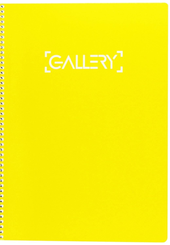 Gallery 949769 - quaderno A4 copertina molle 80 fogli rifornito